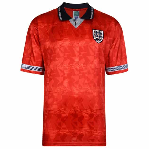 England Trikot 1990 WM Away