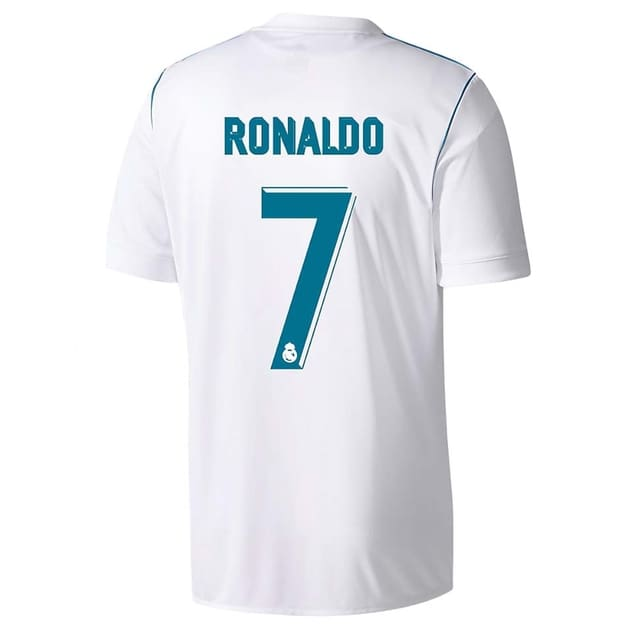 Dekographics Real Madrid Kids Home 2017/18 Flock Ronaldo