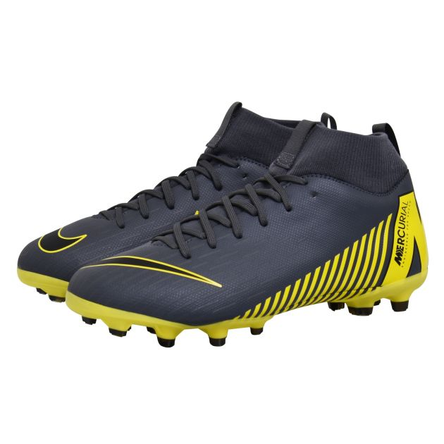 Nike JR SUPERFLY 6 ACADEMY GS MG Grau