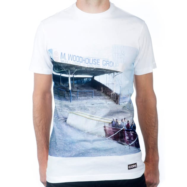 Copa Preston North End Terraces T-Shirt Weiß
