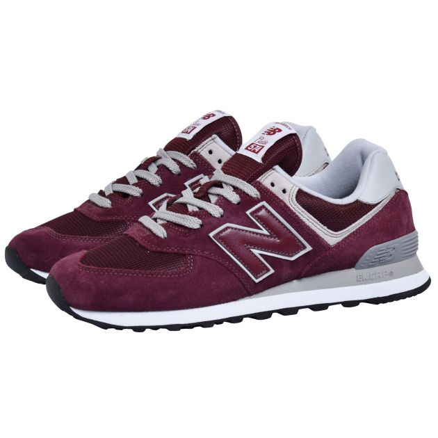 New Balance ML574 Dunkelrot