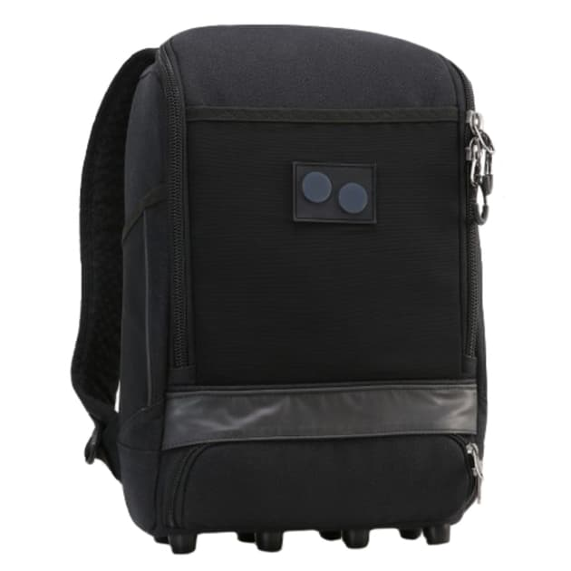 Pinqponq Cubik Small Pure Backpack Schwarz