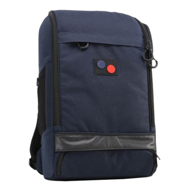 Pinqponq Cubik Large Backpack Dunkelblau
