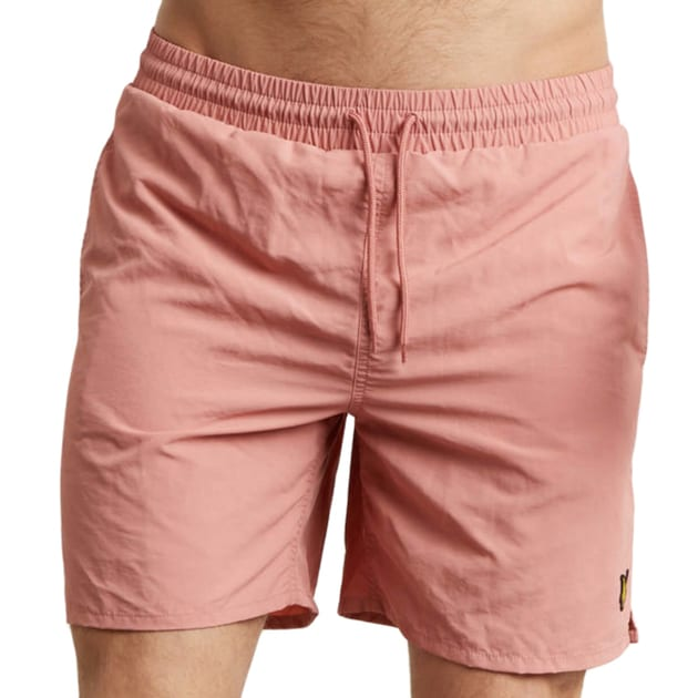 Lyle & Scott Plain Swim Short Pink