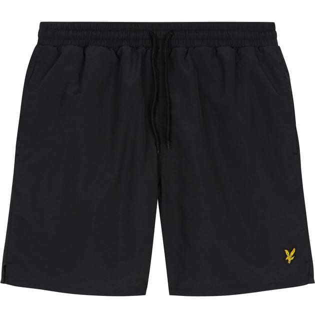 Lyle & Scott Plain Swim Short Schwarz