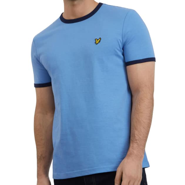 Lyle & Scott Ringer T-Shirt Blau