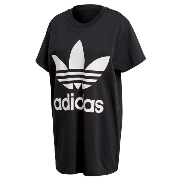 adidas Originals BIG TREFOIL TEE Schwarz