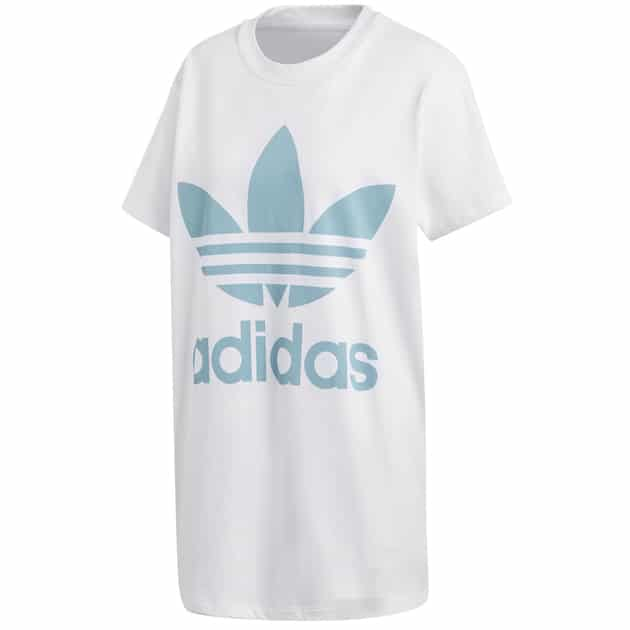 adidas Originals BIG TREFOIL TEE Weiß