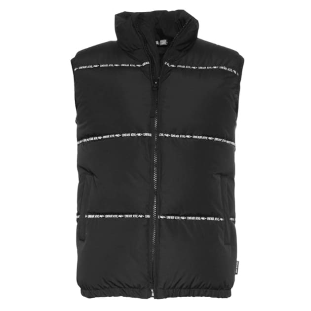 Unfair Athletics Athl. Down Vest Schwarz