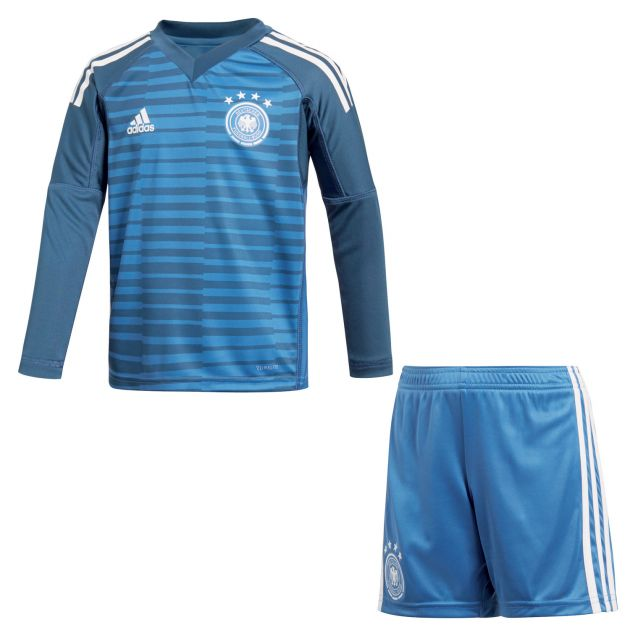 adidas DFB Home Torwart Mini Kit Blau