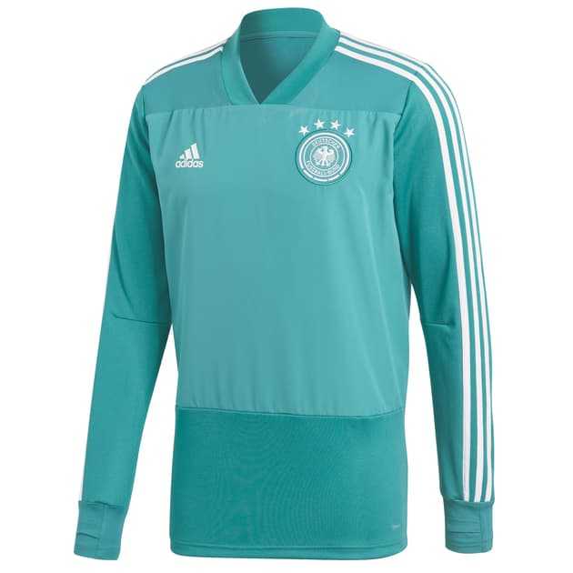 adidas DFB Training Top Kids Grün