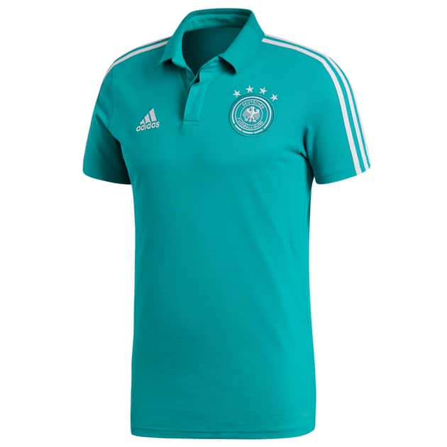 adidas DFB Cotton Polo Grün