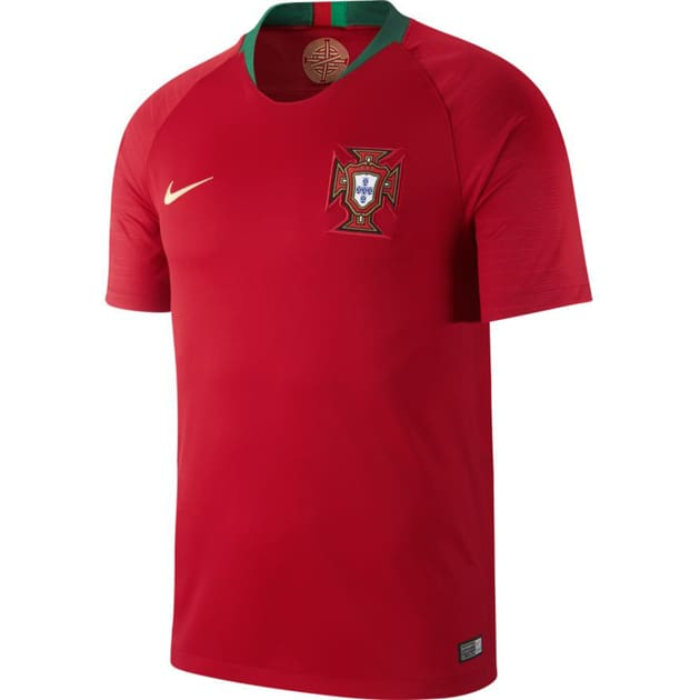 Nike Portugal Home Trikot Kids Rot
