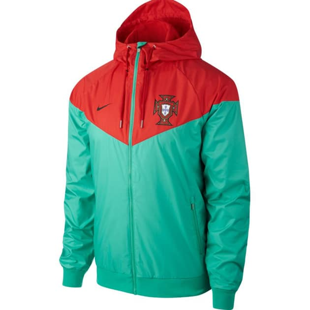 Nike Portugal Authentic Windrunner Grün