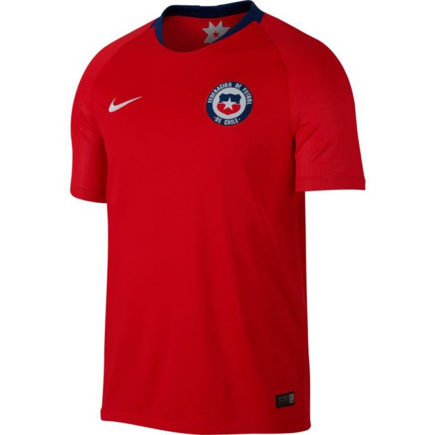 Nike Chile Home Trikot Kids Rot