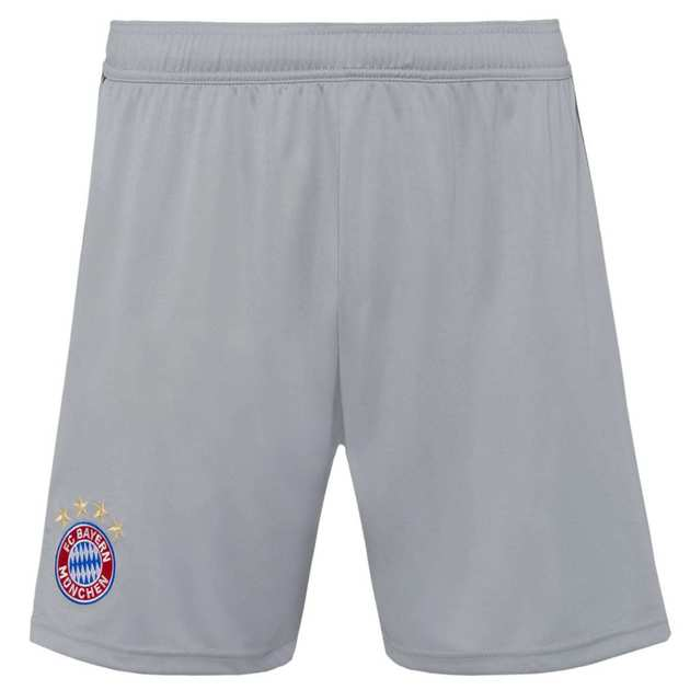adidas FC Bayern Goalkeeper Short Kids Grau