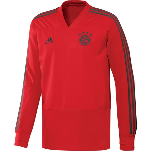 adidas FC Bayern Training Top Kids Rot