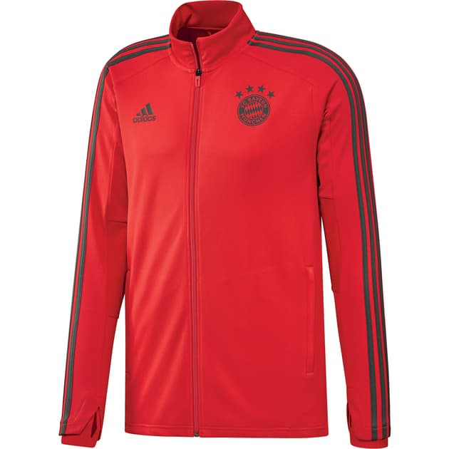 adidas FC Bayern Training Jacket Rot