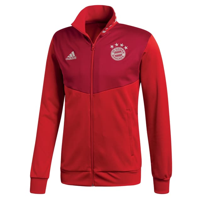 adidas FC Bayern 3S Track Top Rot