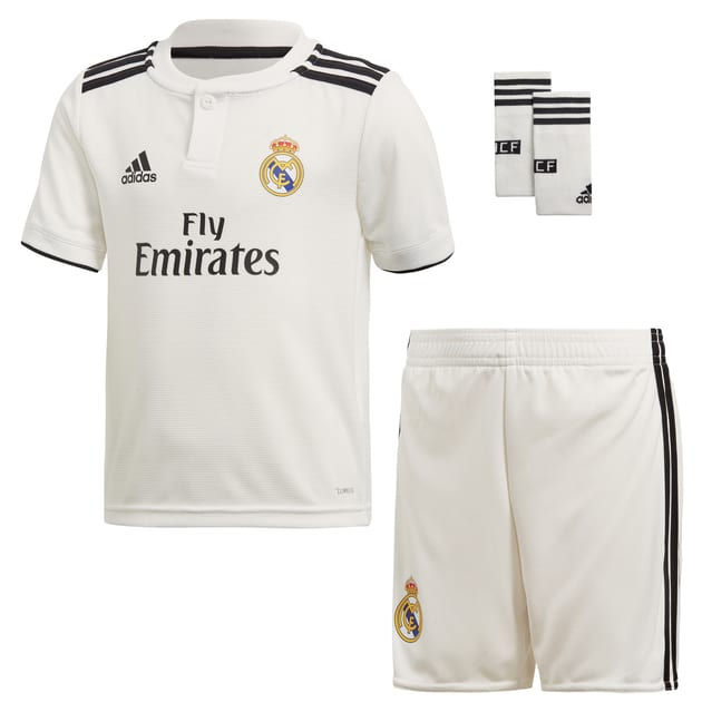 adidas Real Madrid Home Minikit Weiß