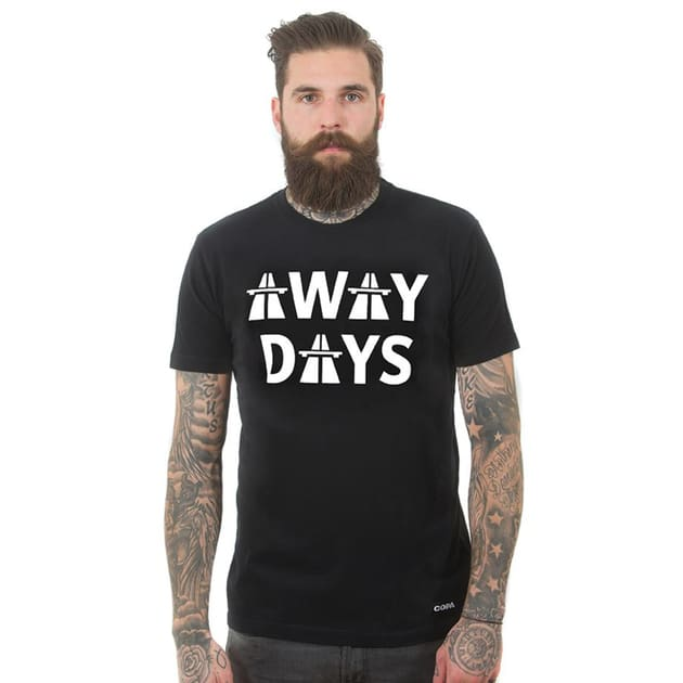 Copa Away Days T-Shirt Schwarz