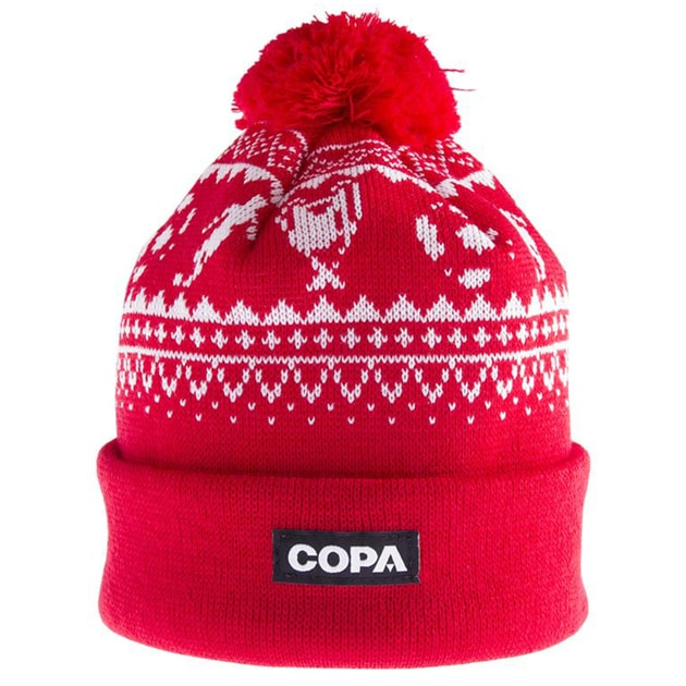 Copa Nordic Knit Beanie Rot