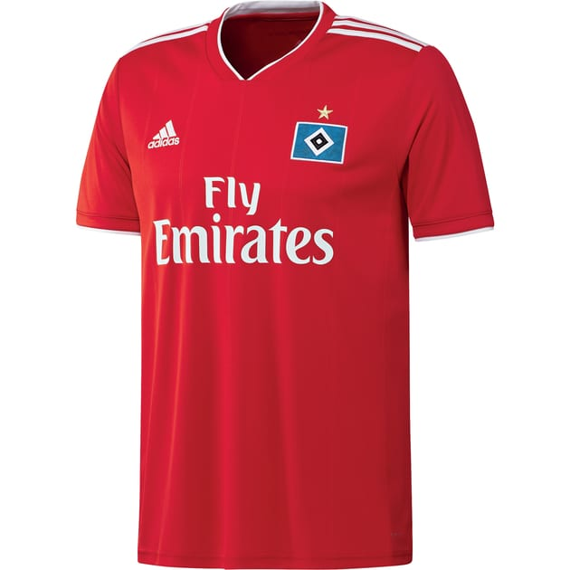 adidas Hamburger SV Away Trikot Rot