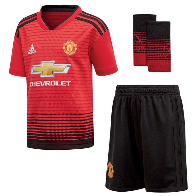adidas Manchester United Home Minikit Rot