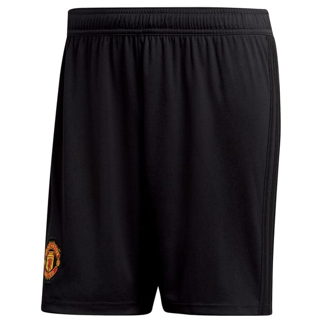 adidas Manchester United Home Short Schwarz
