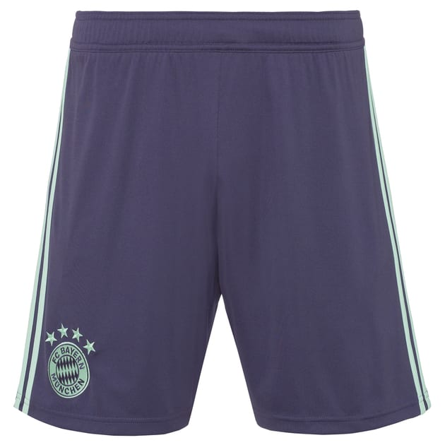 adidas FC Bayern Away Short Kids Violett
