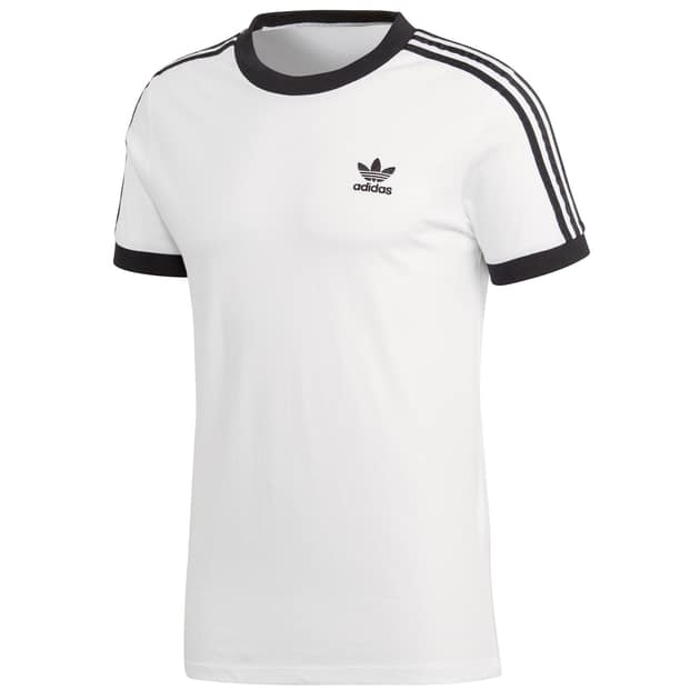 adidas Originals 3 STRIPES TEE Weiß