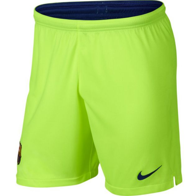 Nike FC Barcelona Away Short Kids Gelb