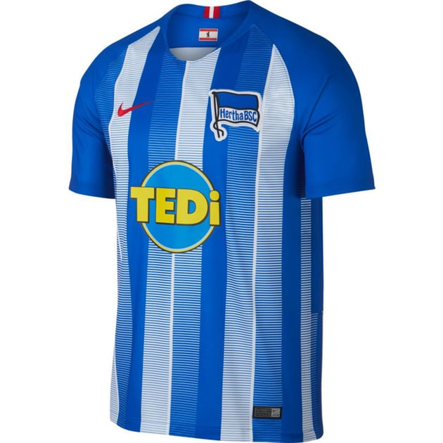 Nike Hertha Berlin Home Trikot Kids Blau