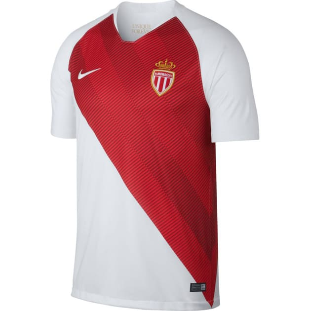 Nike AS Monaco Home Trikot Weiß