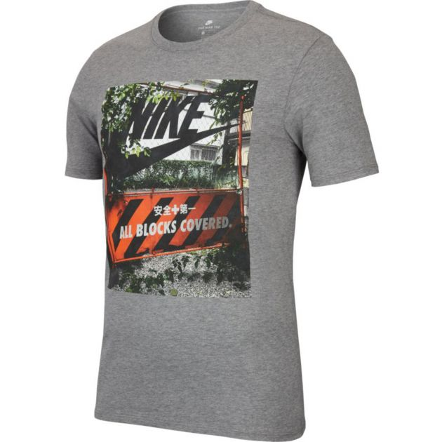 Nike M NSW TEE TABLE HBR 28 Grau