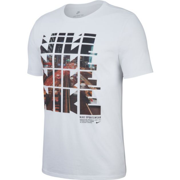 Nike M NSW TEE TABLE HBR 29 Weiß