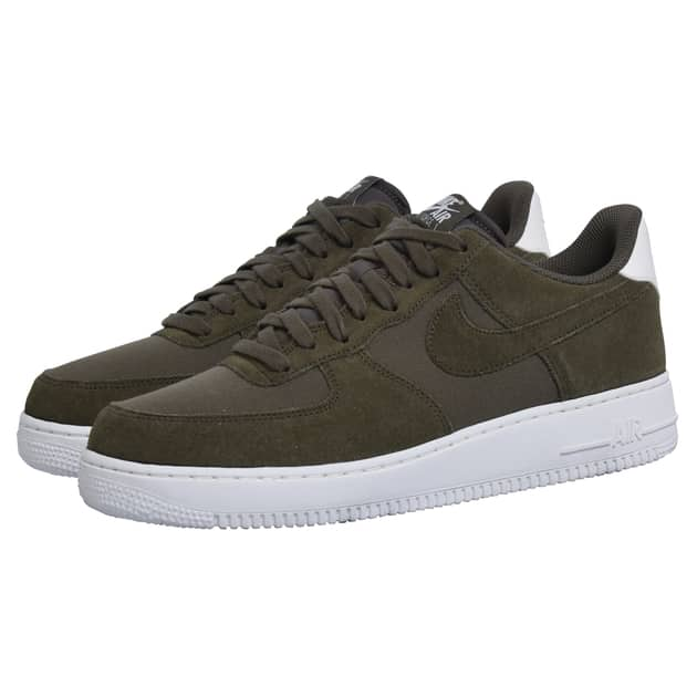 Nike AIR FORCE 1 07 SUEDE Oliv