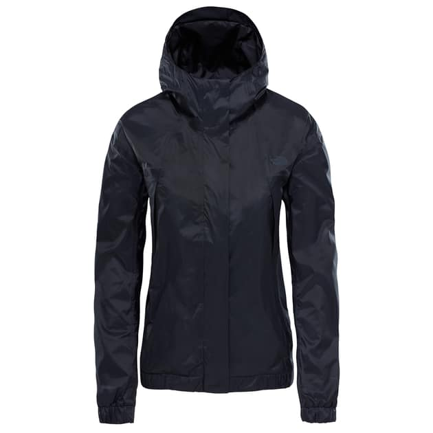 The North Face W PRECITA RAIN JKT Schwarz