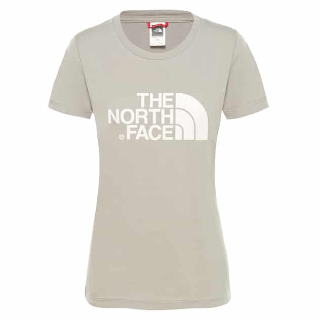The North Face W S/S EASY TEE Beige