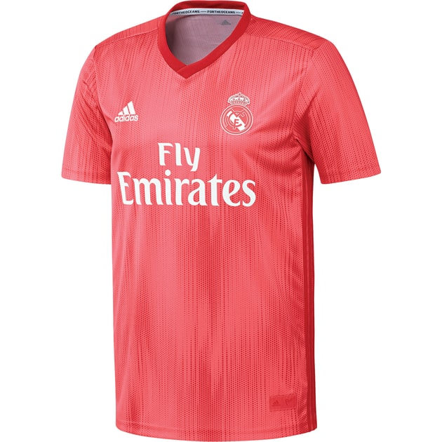 adidas Real Madrid 3rd Trikot Kids Rosa