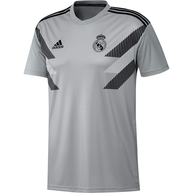adidas Real Madrid Home Preshi Trikot Kids Grau