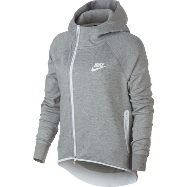 Nike W NSW Tech Fleece Cape FZ Anthrazit
