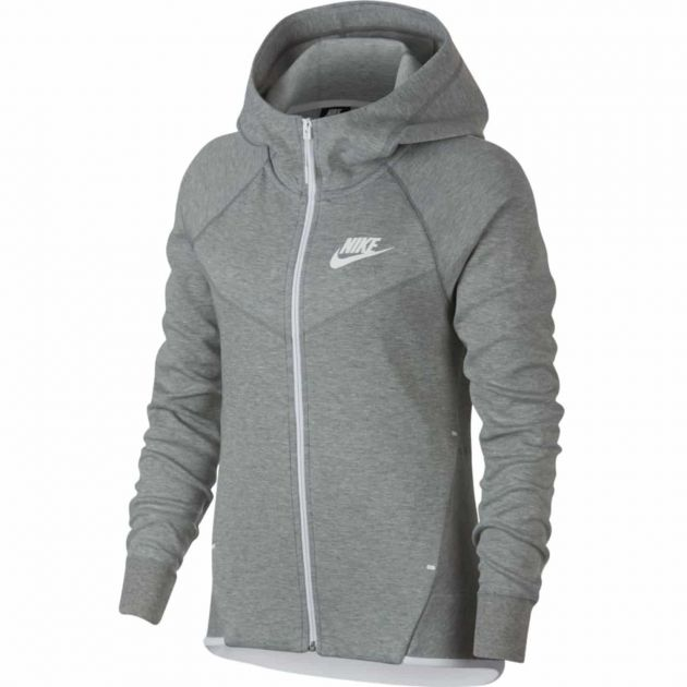 Nike W NSW Tech Fleece Hoodie FZ Anthrazit