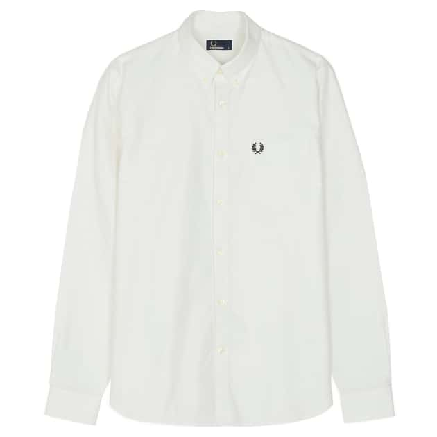 Fred Perry Classic Oxford Shirt Weiß