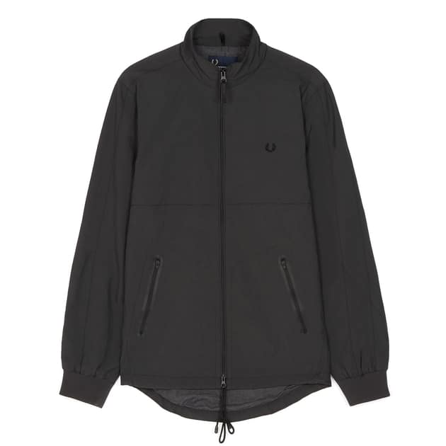 Fred Perry Tonal Sports Jacket Grau