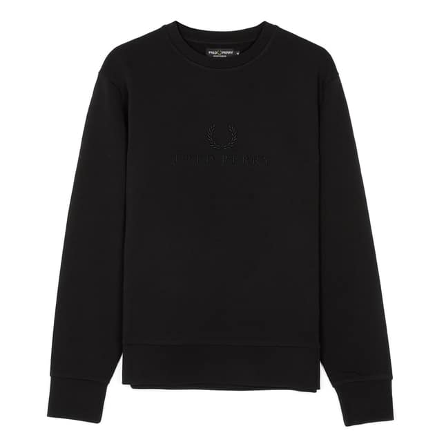 Fred Perry Tonal Embroidered Sweat bei Sport Schuster München