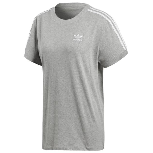 adidas Originals 3 STRIPES TEE Hellgrau