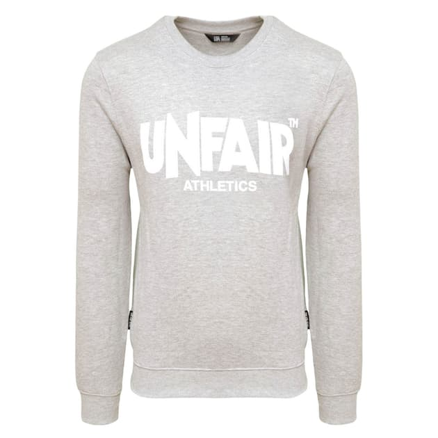 Unfair Athletics Classic Label Crewneck 2018 Grau
