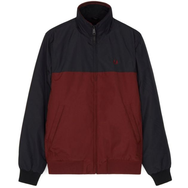 Fred Perry Panelled Quilted Jacket bei Sport Schuster München