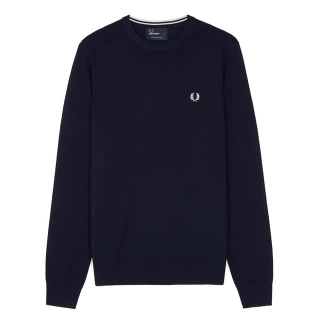 Fred Perry Classic Crew Neck Sweater bei Sport Schuster München